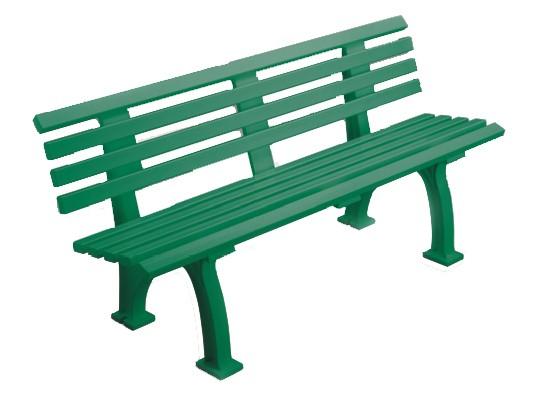 Bank Comfort 150cm grün