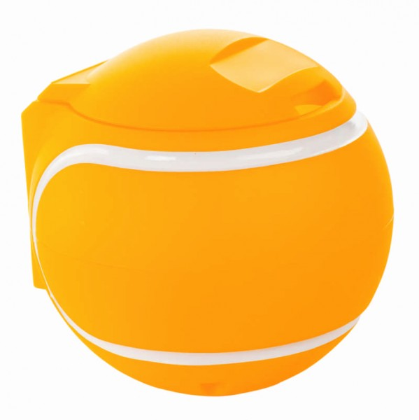 Abfallbehälter Tennisball gelb