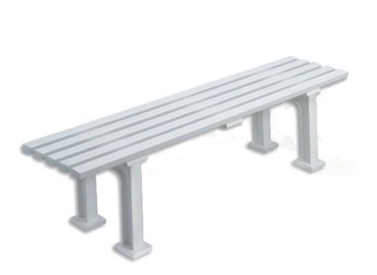 Sitzbank Olympia weiß