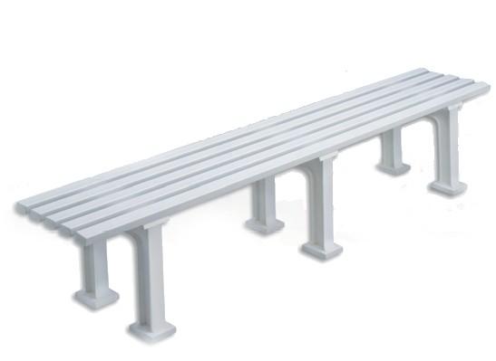 Sitzbank Classic weiß