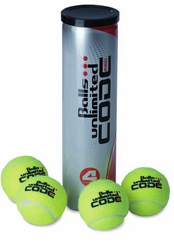 Tennisball Balls Unlimited 'Code Red'