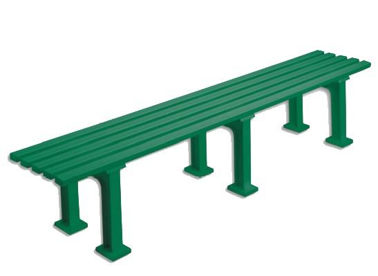 Sitzbank Classic grün