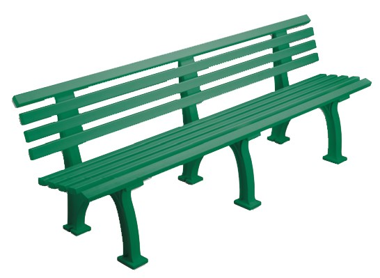 Bank Comfort 200cm grün