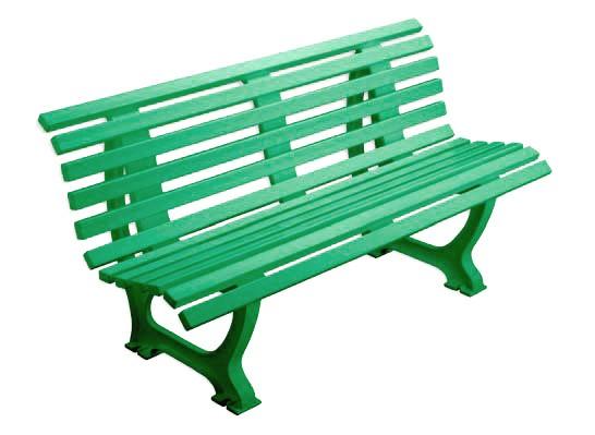 Sitzbank Ergonomic 150 cm grün